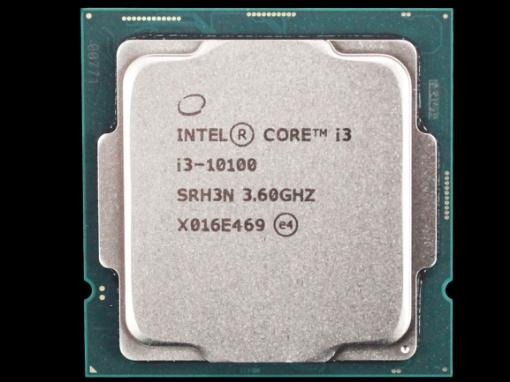 תמונה של מעבד דור 10 Intel Core i3-10100 Tray 4Crs 8Thrd 4.3Ghz lga1200