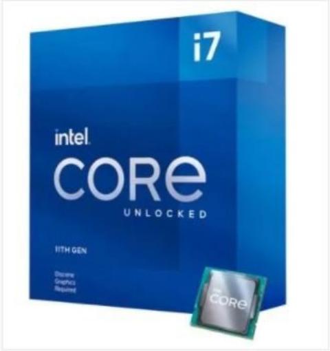 תמונה של מעבד INTEL Core i7-11700 Rocket Lake Tray 16MB LGA1200