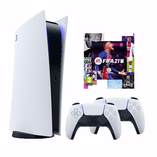 Picture of סוני פלייסטיישן 5  Ps5 Playstation Digital Buindle Fifa 21 825Gb