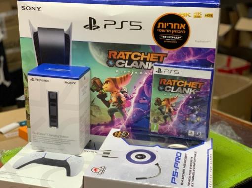 תמונה של Playstation 5 Bluray Ratchet & Clank Super Bundle סוני 5 חבילת ראצ'ט וקלאנק מורחבת  2
