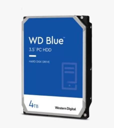 תמונה של דיסק קשיח פנימי 3.5 Western Digital Blue 4TB SATA6 Gb/s 256MB