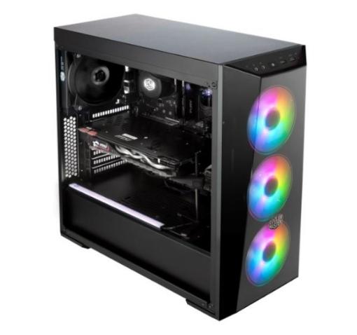 תמונה של מארז COOLER MASTER MASTERBOX LITE 5 ARGB GAMING PC CASE MID TOWER