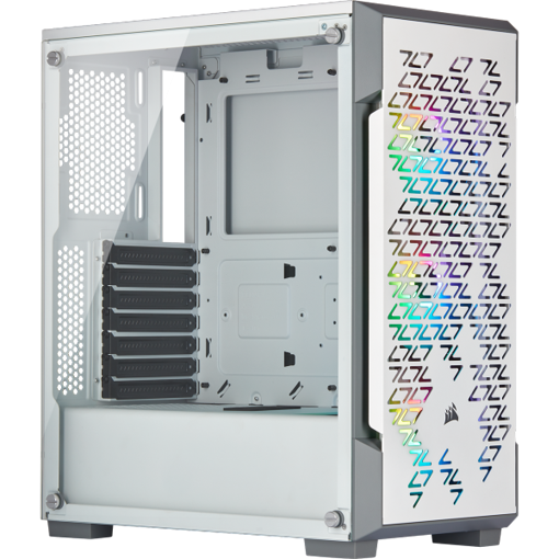 Picture of מארז לבן Corsair ICUE 220T RGB Airflow Mid Tower