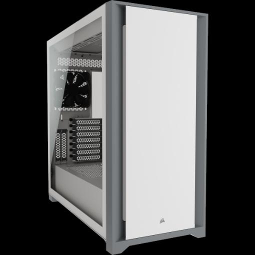 תמונה של מארז CORSAIR 5000D Tempered Glass Mid Tower ATX PC CASE WHITE