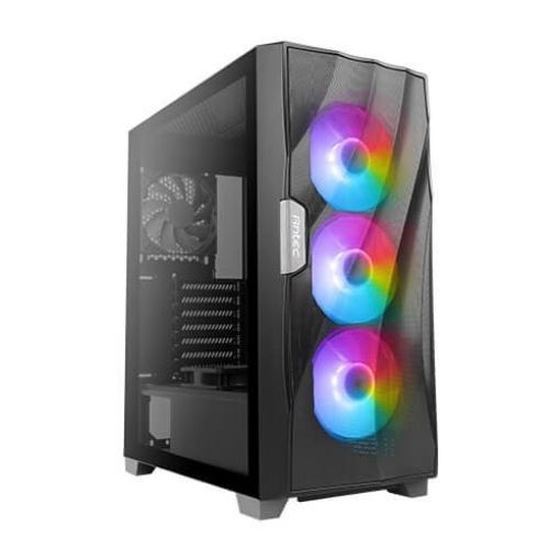 תמונה של מארז ANTEC DF700 FLUX Tempered Glass RGB Mid tower Black Case