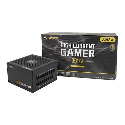 תמונה של ספק כוח Antec HCG750 80 plus GOLD Modular 750W 12GB