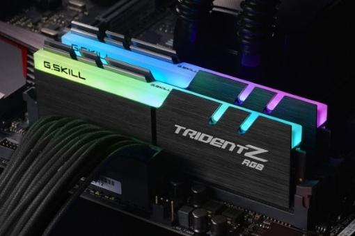 תמונה של זכרון לנייח קיט G.SKILL KIT 16GB 2x8 DDR4 3200Mhz RGB