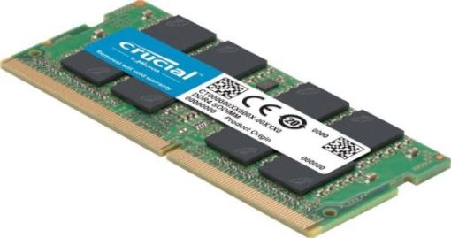 תמונה של זכרון לנייד CRUCIAL 16GB DDR4 2666MHZ SO-DIMM
