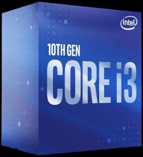 תמונה של מעבד אינטל דור 10 Intel I3-10105 BOX 4.4Ghz 6Mb Cache LGA1200