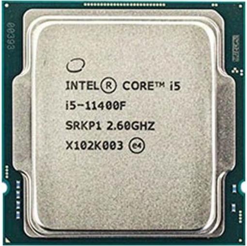 תמונה של מעבד INTEL Core i5-11400F Tray 12MB LGA1200 65W NO GPU No FAN