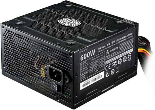 תמונה של ספק כוח Cooler Master PK600W ELITE V4 Active PFC Silent