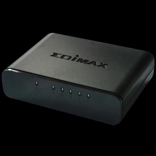תמונה של סוויץ' 10/100 EDIMAX ES-3305P 5 Port SOHO Switch